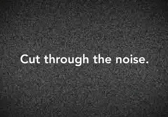 Cut-noise